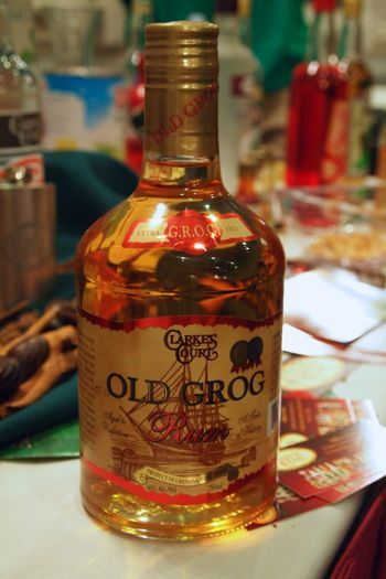 Clarkes Court Old Grog Rum, a great gold rum from Grenada to celebrate the country's 1st Olympic gold medal!