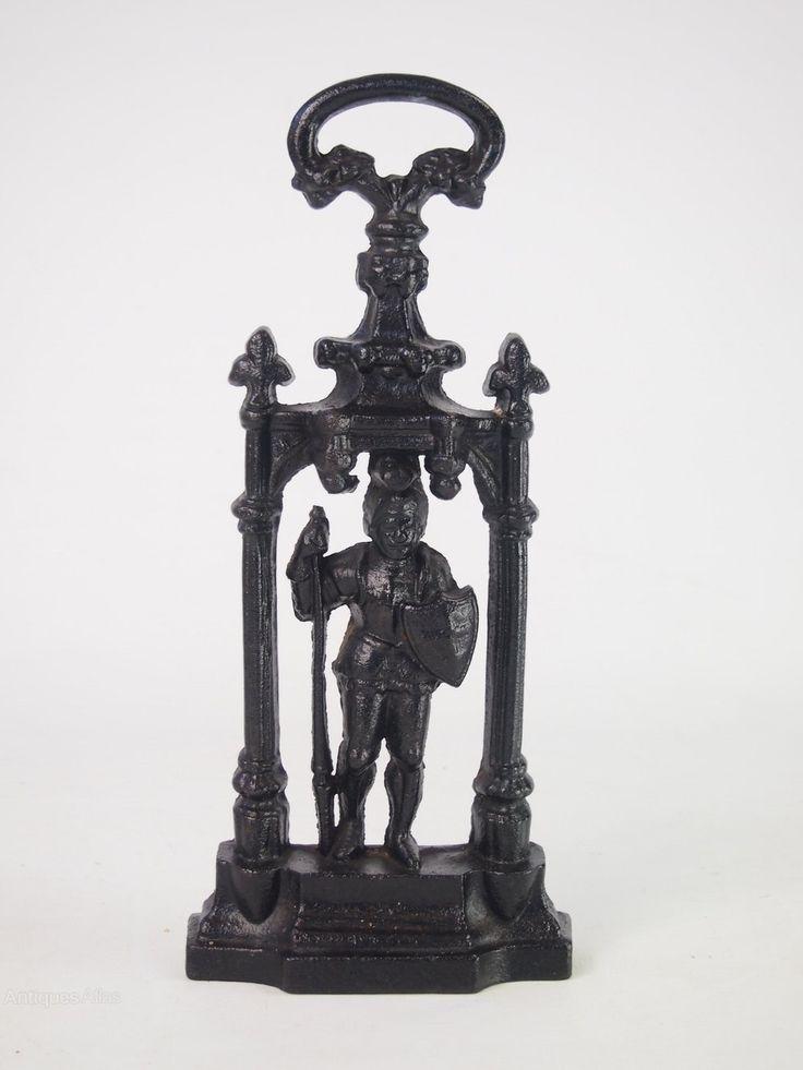 Antiques Atlas - Victorian Gothic Knight Door Stop