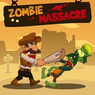 Zombie Massacre - http://www.funtime247.com/action/zombie-massacre/ - Protect the innocent people in the Wild West and defeat the zombie hordes!