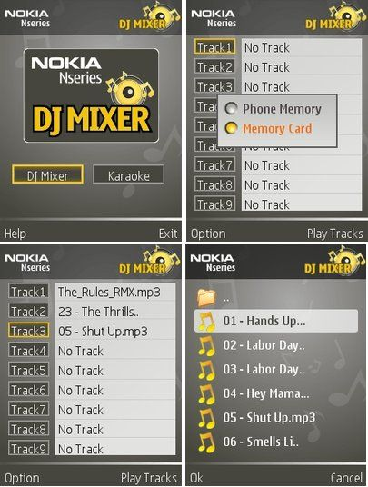 Nokia DJ Mixer for Symbian | Free Downloads