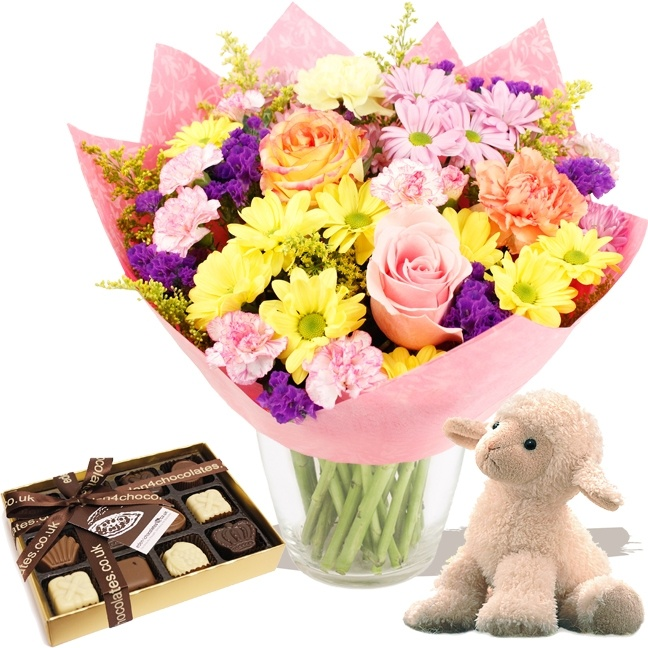 Flowers EASTER 2013 - Spring Gift Set (E)