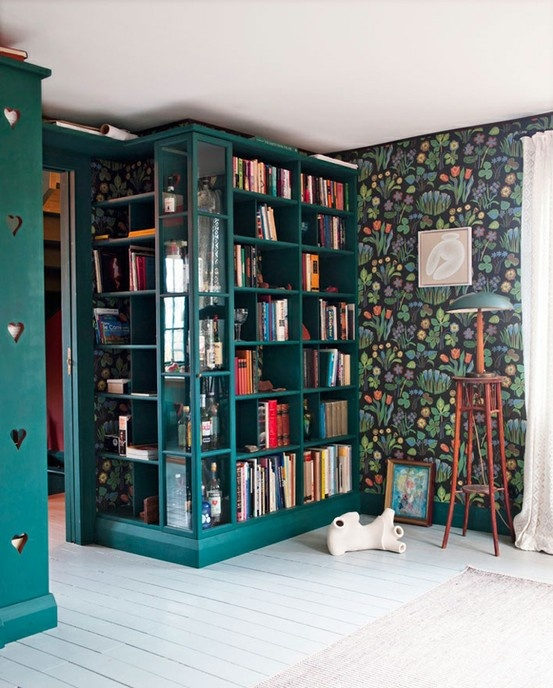 Frank Bank Wallpapers Josef Frank Frank Wallpapers Bookcas Book Shelves Corner Shelves