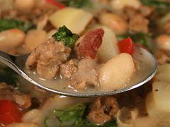 Quick Sausage Toscana SoupJimmydean, Gotta Try, Sausage Toscana, Jimmy Dean, Simmer Soup, Quick Sausage, Soup Recipes, Dinner Tonight, Toscana Soup