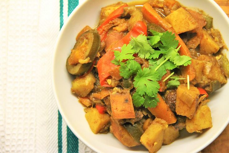 Simple Moroccan Vegetable Tagine