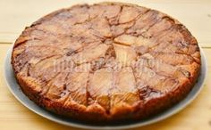 Περιβόλι της Παναγιάς: Ανάποδη νηστίσιμη μηλόπιτα χωρίς βούτυρο, αυγά και...