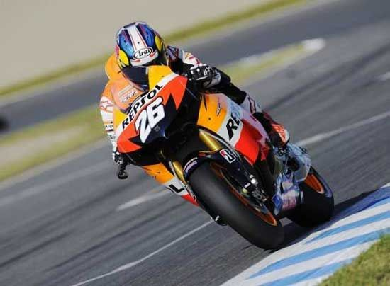 Wallpaper MotoGP, Dani Pedrosa Repsol Honda