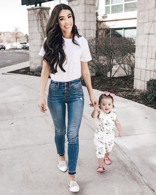 47 Chic And Casual Outfit Ideas For Young Moms Fashionlookstyle Com Inspiration Your Fashion And Young Mom Outfits Young Mom Style Casual Outfits For Moms