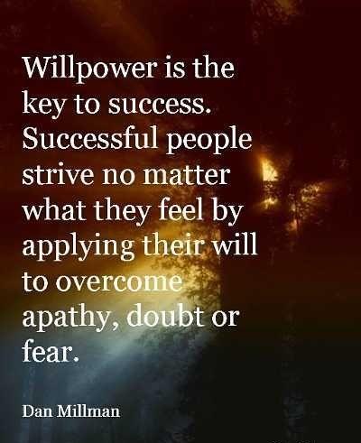 Dan Millman #Applying, #Fear