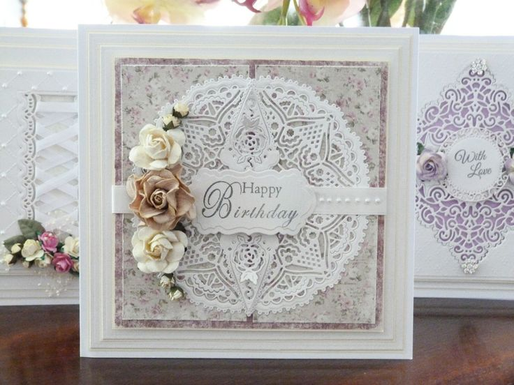 'Chantilly Petal' - Corner Die. Visit tatteredlace.co.uk for available stockists.