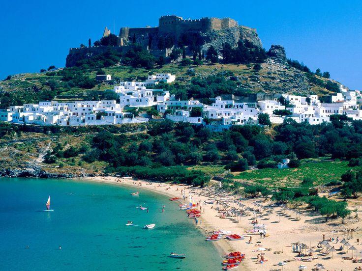 Beautiful natural attractions in Greece Mykonos - it is a top tourist attractions in Greece in the Aegean Sea.