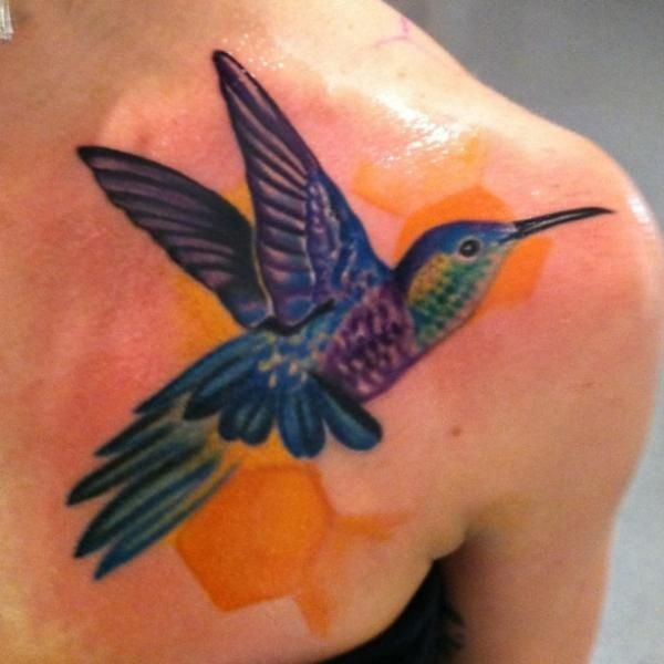 74 Best Hummingbird Tattoos Images On Pinterest Sketches Drawings