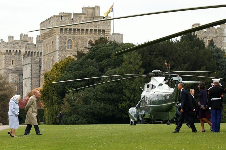 #Queenat90 La Cour Royale Espagnole: Les Obamas rencontre la Reine et duc d'Édimbourg