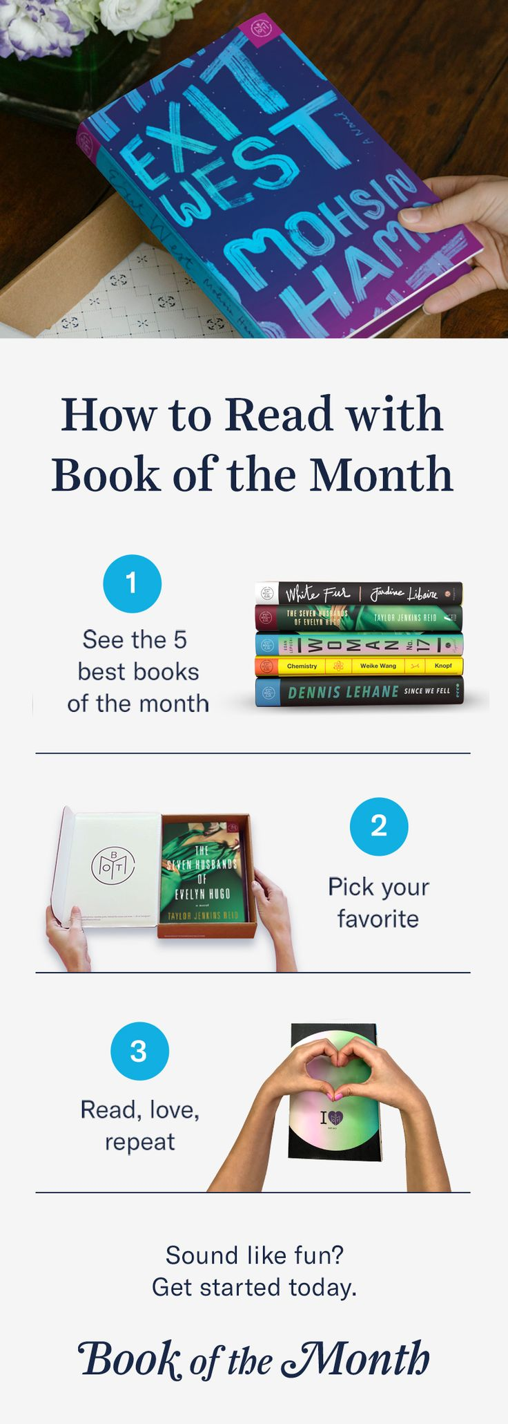 Discover A Better Way To Read Head To Bookofthemonth To Learn More And