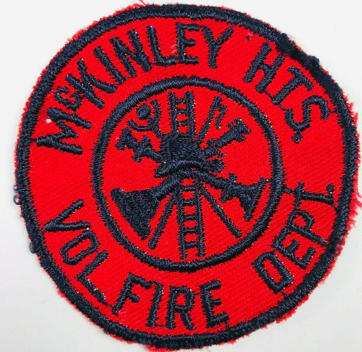 McKinley Heights Volunteer Fire Department Ohio Patch in
