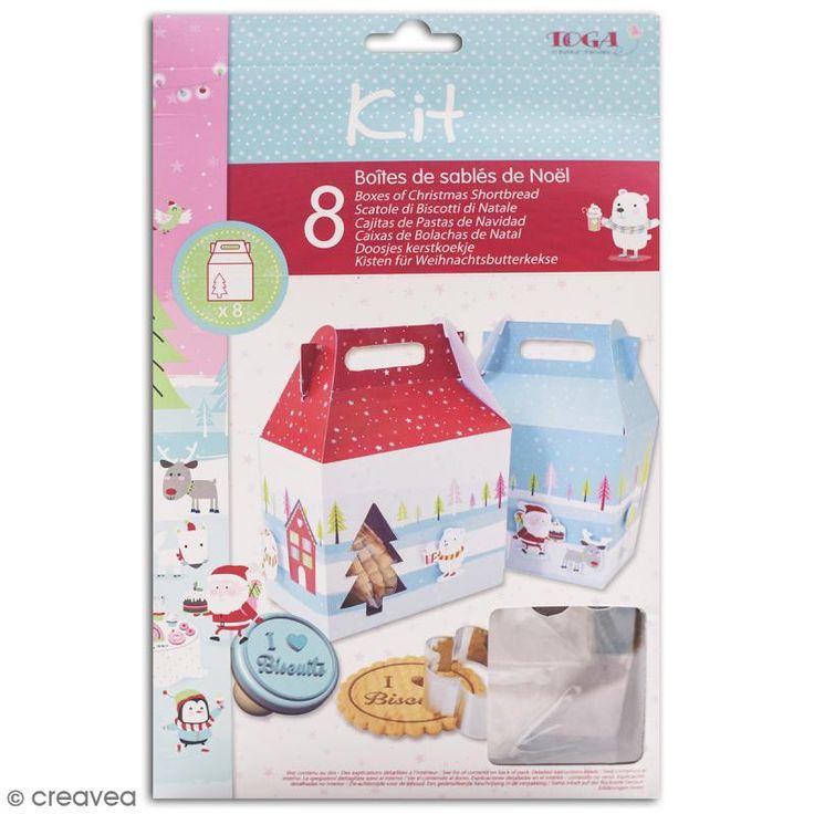 Compra nuestros productos a precios mini Kit Cajas de galletas de navidad - Navidad en el Polo Norte - Entrega rápida, gratuita a partir de 89 € !