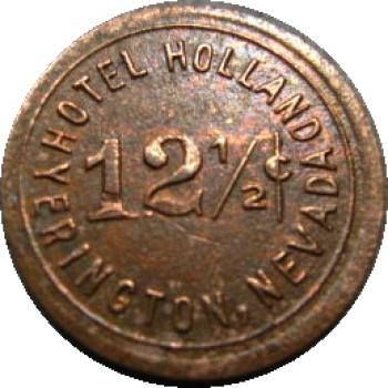 HOTEL HOLLAND / 12½¢ / YERINGTON, NEVADA