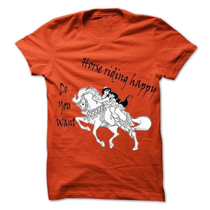 horse riding happy T Shirt, Hoodie, Sweatshirt