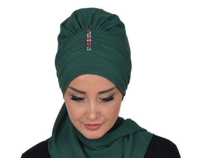 Favori In 2020 Turban Hijab Hijab Tutorial Wedding Hijab