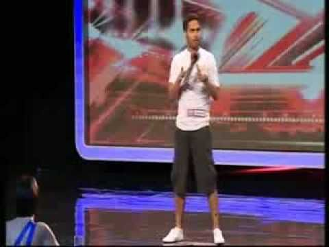 "Danyl Johnson The X Factor UK 2009 - Simon Cowell says ""it's the Best First Audition Ever?"""