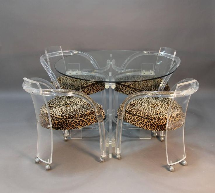 Lucite Dining Room Table