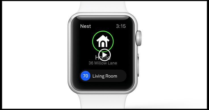 nest app now works with apple iwatch smart home iot pinterest