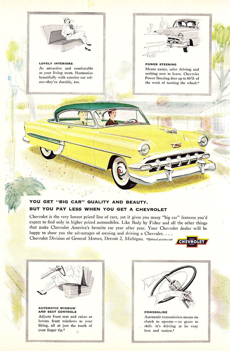 362 best Old Chevy Ads images on Pinterest | Old school cars ...