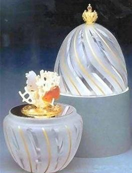 RosamariaGFrangini | Antiques | Coral Egg Theo Fabergé