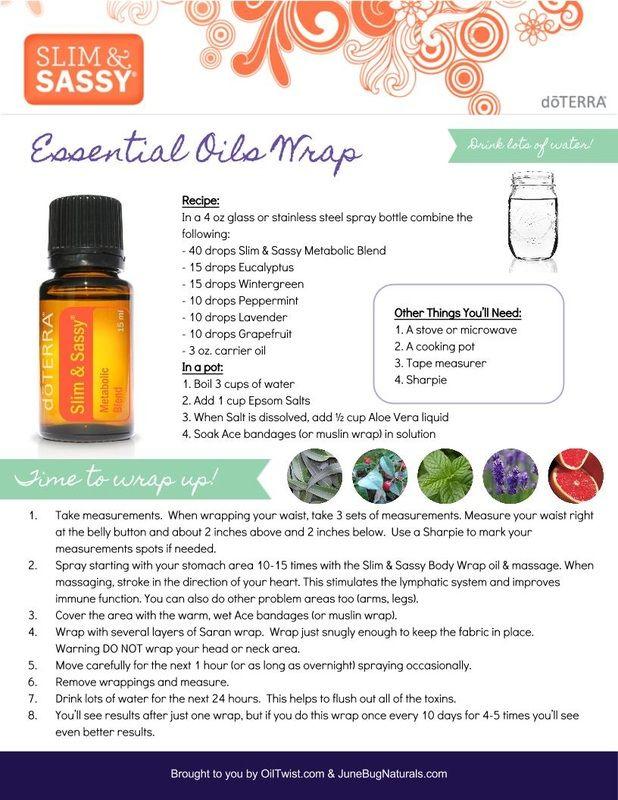 Get Skinny with doTERRA essential oils Body Wrap
