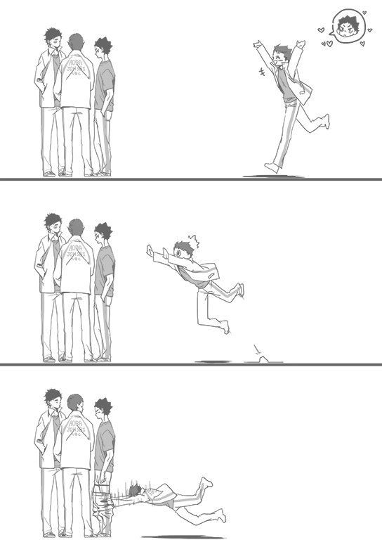 such an oikawa thing to do...