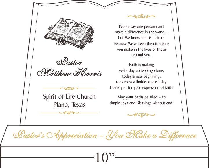 Pastor Anniversary Tributes and Sample Wordings | Pastor ...