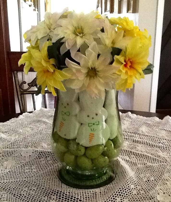 Easter table decorations pinterest the for Easter decorations for the home pinterest