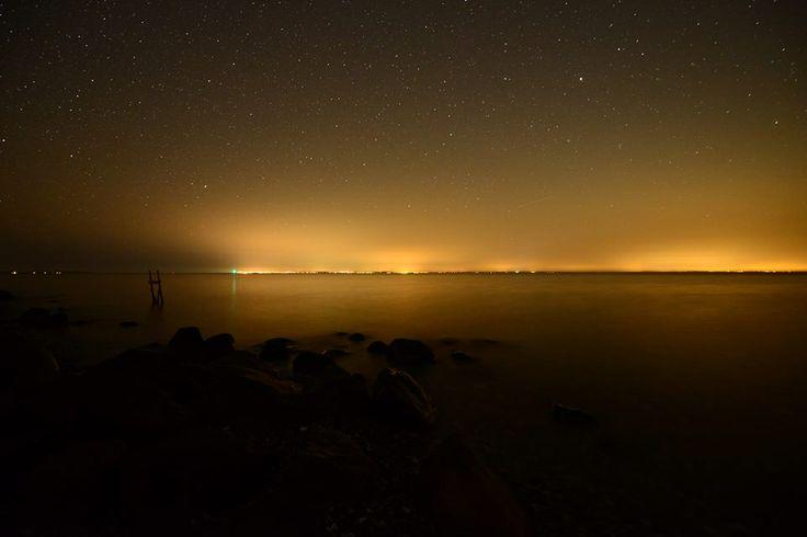 Starry, Starry Night by Isefjord, #Odsherred
