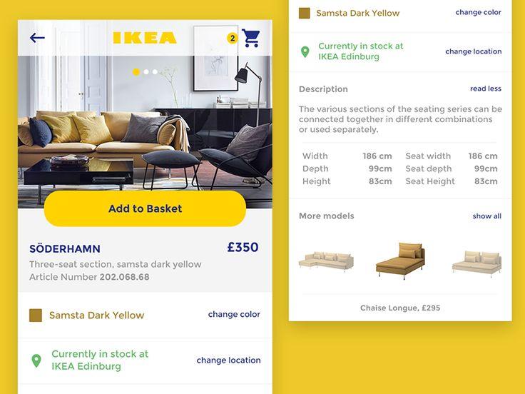 Ikea App Concept by Carlota Silva