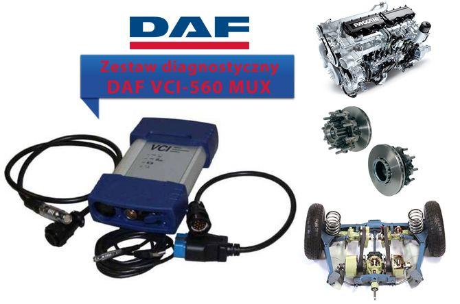 Prezentowany przez nas interfejs diagnostyczny DAF-VCI-560 MUX to kompleksowe narzędzie które pozwoli zdiagnozować takie elementy pojazdu jak silnik, system hamulcowy, systemy bezpieczeństwa, skrzynie biegów.   #DAFVCI560MUX #ciężarówkiDAF #samochodyciężarowe #TIR #serwis #diagnostyka #naprawapojazdów #DAF #serwisDAF #zestawdiagnostyczny