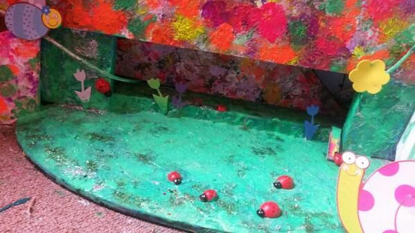 "MISS PinkyFunkii escort has created abstract wonderland of the Lady beetles in transit. ..""on the move""n groove"