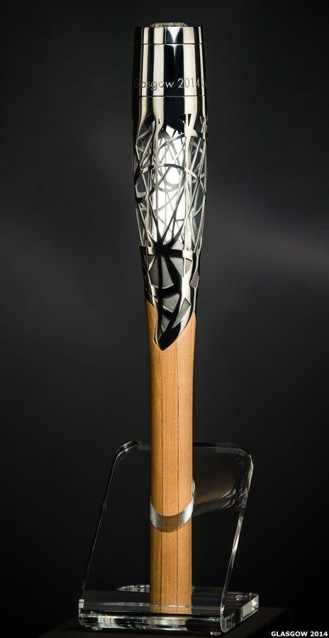 BBC News - Glasgow 2014: Commonwealth Games Queen's Baton design unveiled