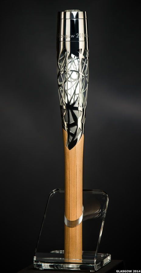 BBC News - Glasgow 2014: Commonwealth Games Queen's Baton design unveiled