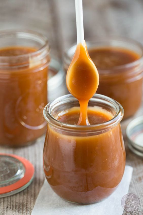 Homemade salted caramel sauce is so easy to make that you won't need to buy it…