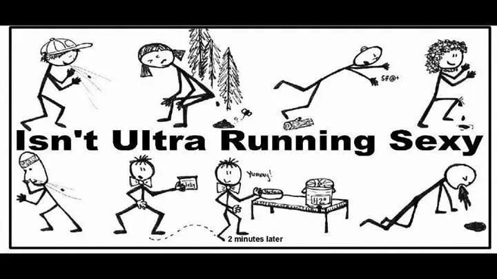 This is so true.  This is for James and his ultra-running friends.