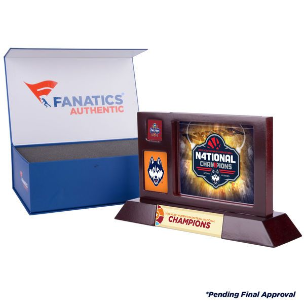 Uconn Huskies Fanatics Authentic 2016 NCAA Women's Basketball National Champions Desktop Display - $39.99