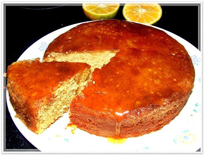 Portakallı Yoğurtlu Tam Buğday Keki