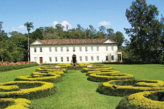Fazenda do Secretário, município de Vassouras, Rio de Janeiro, Brasil. Fazenda de café construída no século XIX.