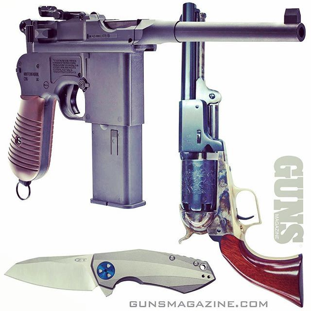 Building a wish list? Broomhandle Mauser ... .44 1847 Whitneyville Dragoon ... Zero Tolerance model 0456 folding knife by Dmitry Sinkevich? GUNS Magazine Christmas gift guide is a good place to start. Follow our profile link for more. --------- #gunsmagazine #guns #wishlist #santashelper #igmilitia #secondamendment #righttobeararms #dragoon #broomhandle #pewpew #knives #ztknives #dmitrysinkevich #umarex #dixiegunworks