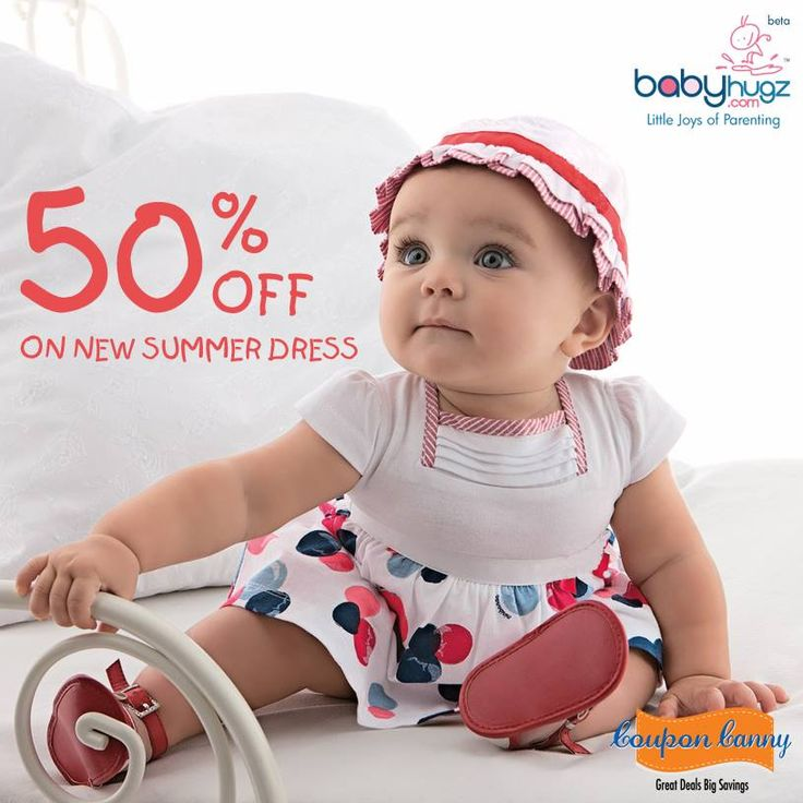 Save Up to 50% Off On New ‪#‎Summer‬ ‪#‎Dress‬ at ‪#‎BabyHugz‬! Claim Now : http://www.couponcanny.in/babyhugz-coupons/