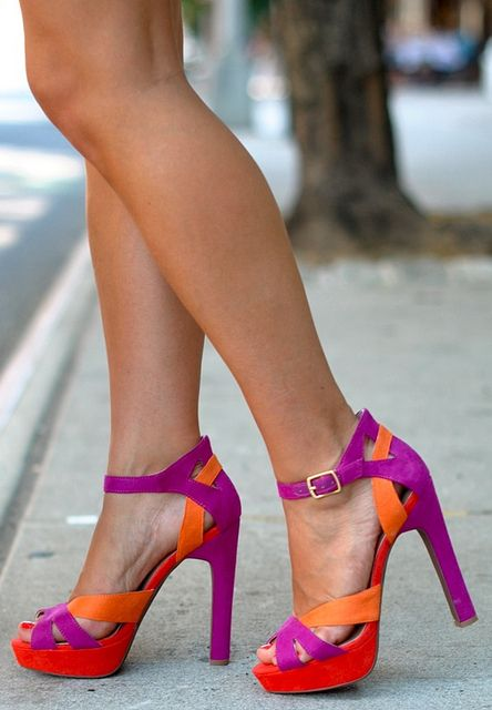 Colorful pumps