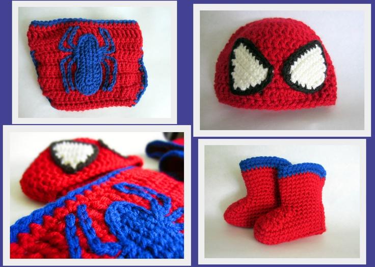 117 Best Crochet Spiderman Heros Images On Pinterest Crochet
