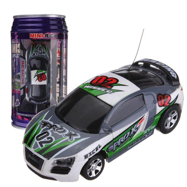 Can Coke Remote Control Mini Speed RC Micro Racing Car