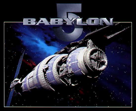 babylon 5 | Babylon 5 - TV Series Poster Babylon 5 TV Series 1994 1998 Screen ...