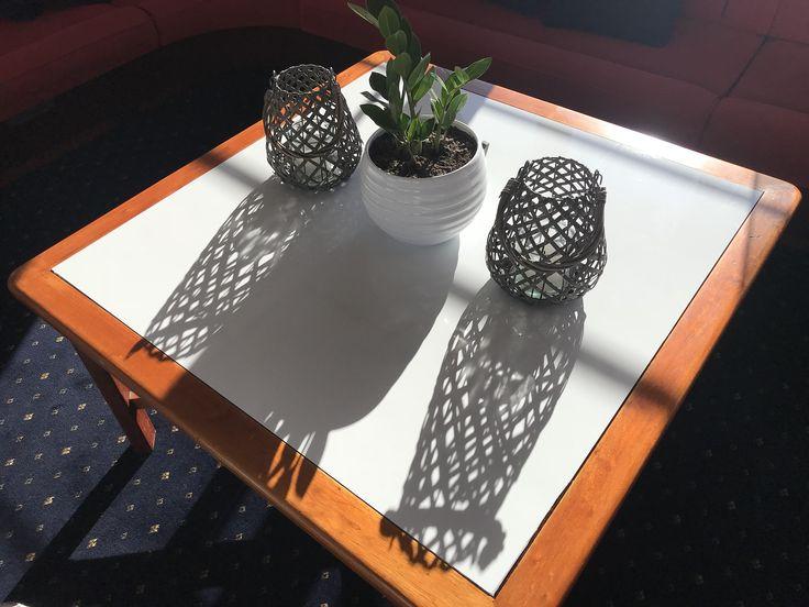 Table to white #vinylwrap #vinylboatwrap #interiordesign
