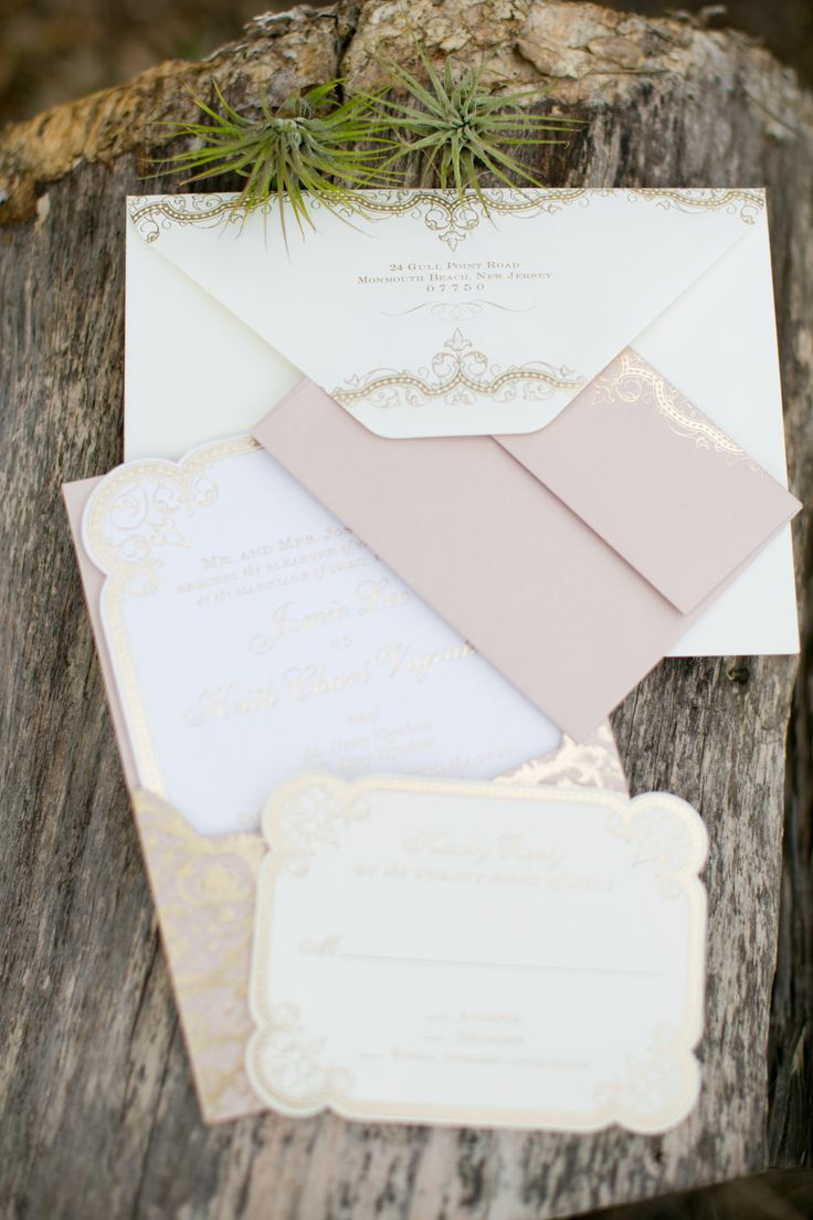 #WeddingInvitations from East Six | Jana Williams Photography | See more on #SMP Weddings: http://www.stylemepretty.com/2013/12/04/smps-blogger-bride-devon-rachels-engagement-session/